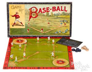 McLoughlin Bros. Game of Baseball, late 19th c.