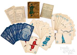 Lawson's Base Ball card game, ca. 1884