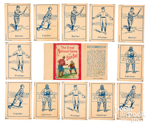 The Great National Game of Baseball cards