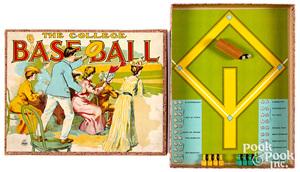 Parker Bros. College Baseball Game