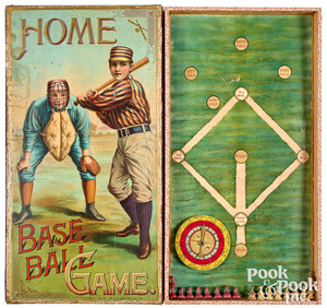 McLoughlin Bros. Home Baseball Game, ca. 1897
