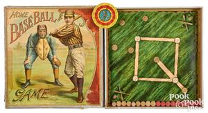 McLoughlin Bros. Home Baseball Game, ca. 1900