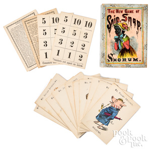 The New Game Of Snip, Snap, Snorum, ca. 1865