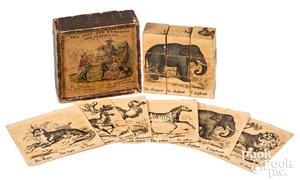 The Wild and Domestic Mammalia block set