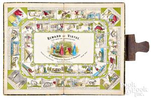 Ives Reward Of Virtue Game, ca. 1850