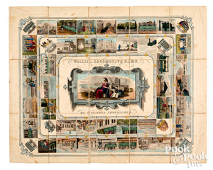 Wallis Locomotive Game of Railroad Adventures
