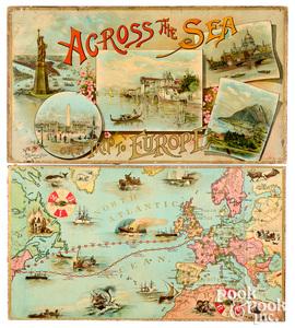 McLoughlin Bros. Across the Sea, ca. 1896