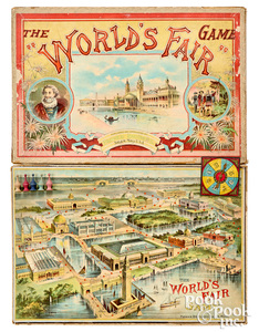 Parker Bros. World's Fair Game, ca. 1892
