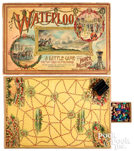 Parker Bros. Waterloo A Battle Game, ca. 1895