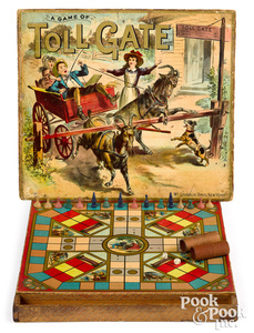 McLoughlin Bros. Game of Tollgate, late 19th c.