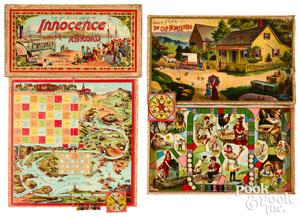 Early McLoughlin & Parker Bros. games