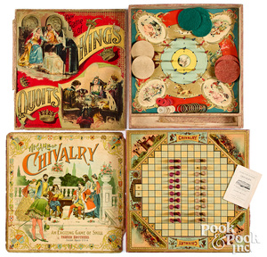 Two larger early board games