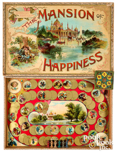 McLoughlin Bros. Mansion of Happiness, ca. 1895