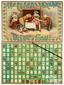 McLoughlin Bros. Game of Gypsy Fortune Telling