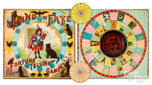 Mcloughlin Bros. Hand of Fate Fortune Telling