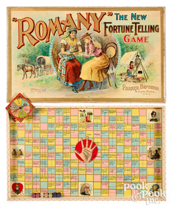 Parker Bros. Romany The New Fortune Telling