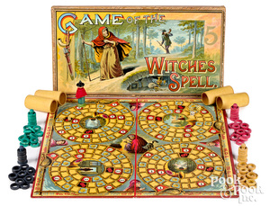 McLoughlin Bros. Game of the Witches Spell