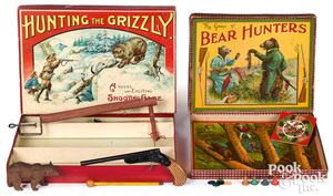 Two bear hunting games