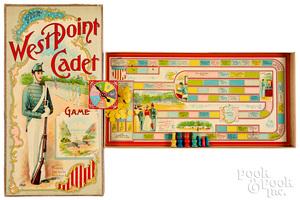 Parker Bros. West Point Cadet Game, ca. 1900
