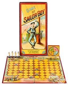 J.H. Singer Game of Sailor Boy, ca. 1899