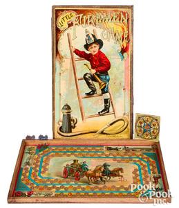 McLoughlin Bros. Little Firemen Game, ca. 1897