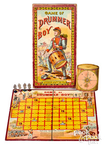 J.H. Singer Game of Drummer Boy, early 20th c.