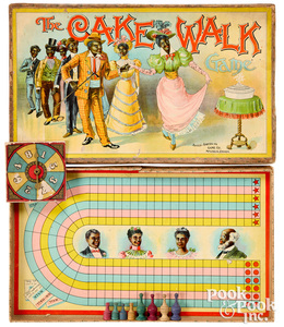 The Cake Walk Game, ca. 1900