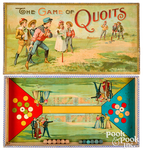 Chaffee & Selchow Game of Quoits ca 1898