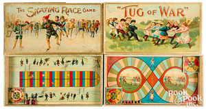 Two Chaffee & Selchow Board Games, ca. 1898