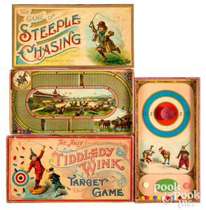 Two early McLoughlin Bros. games, ca. 1903