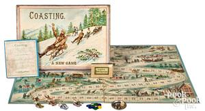 Spear & Sohne Coasting Game, ca. 1920