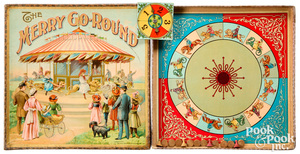 Chaffee & Selchow The Merry Go Round Game