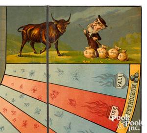 McLoughlin Bros. Bulls and Bears - Wall Street