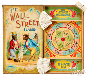 Parker Bros. The Wall Street Game, ca. 1901