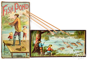 Clark & Sowdon Fish Pond Game, early 20th c.