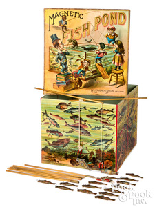 McLoughlin Bros. Magnetic Fish Pond Game