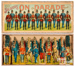 McLoughlin Bros. 50 Soldiers on Parade