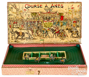 Course A Anes (Donkey Race) game, early 20th c.