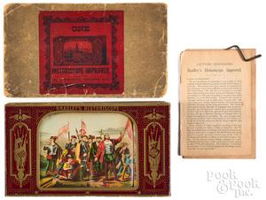 Milton Bradley Historiscope, late 1800's