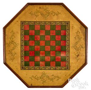 McLoughlin Bros. Octagonal Game Board, ca. 1900