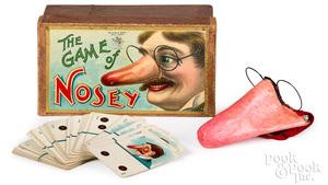 McLoughlin Bros. Game of Nosey, ca. 1905