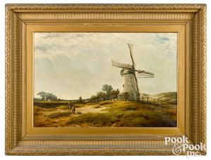 Waller H. Paton oil on canvas landscape