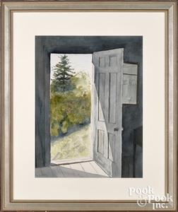 Ann Wyeth McCoy watercolor