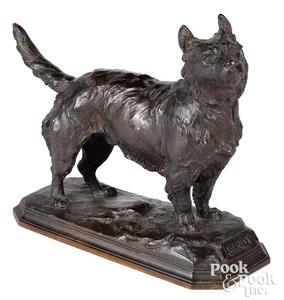Frederick Roth bronze terrier