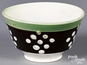 Mocha finger bowl
