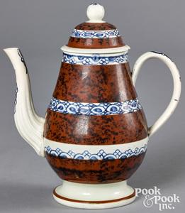 Mocha teapot