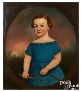 Attributed to Joseph Goodhue Chandler, portrait