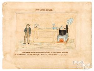 Two Civil War drawings