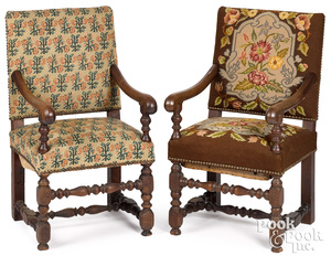 English William and Mary child's armchair