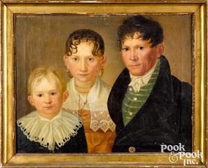 Wilhelm Gottfried Bauer family portrait